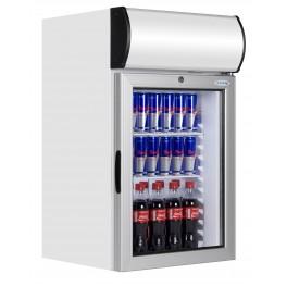 Vitrine réfrigérée pour boisson 80 L - Fronton lumineux