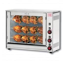 Rotissoire 12 poulets