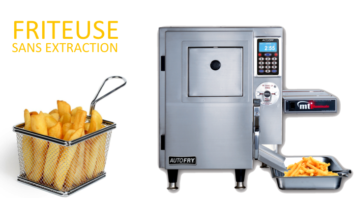 Friteuse sans extraction